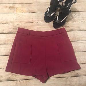 Magenta Shorts – Forever 21